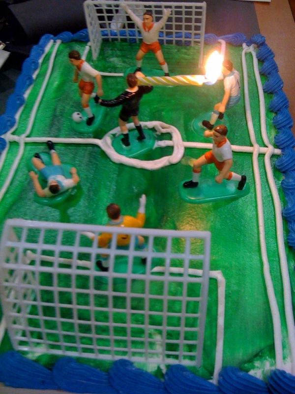 cake ref on fire
